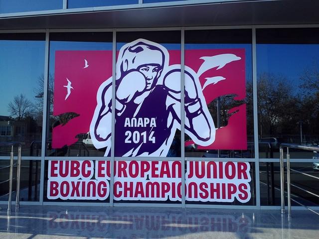 Mistrovství EVROPY kadetů – Anapa, Rusko