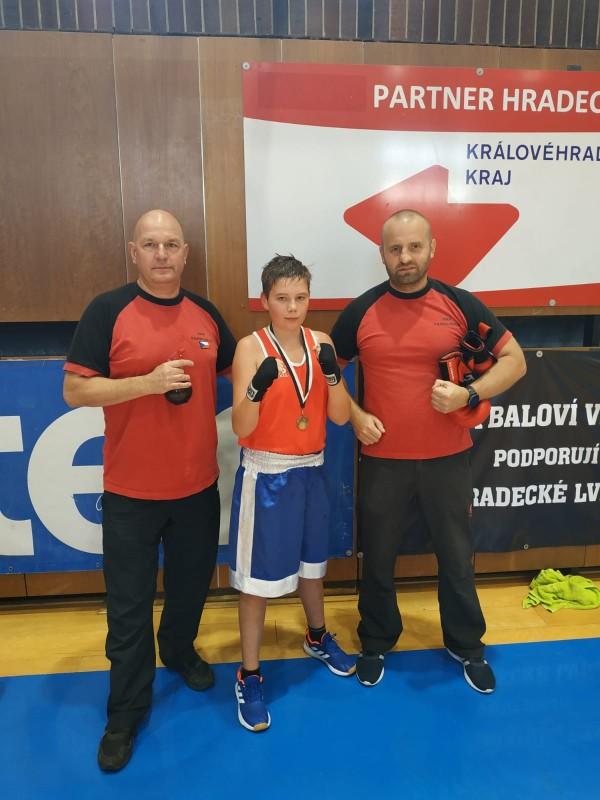 Česká národní liga v Boxu Hradec Králové 3.10.2020