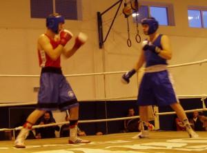 II. liga boxu Třeboň 15.12.2007
